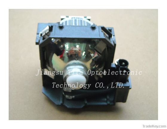 Original/compatible projector lamp/bulb with housing