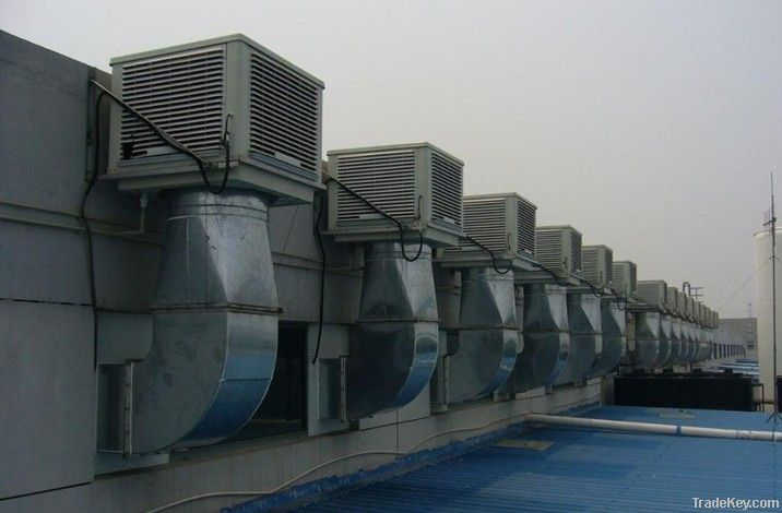 Evaporative Air cooler & poultry equipment
