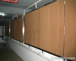 wet curtain, cooling pad, Poultry fan, Evaporative