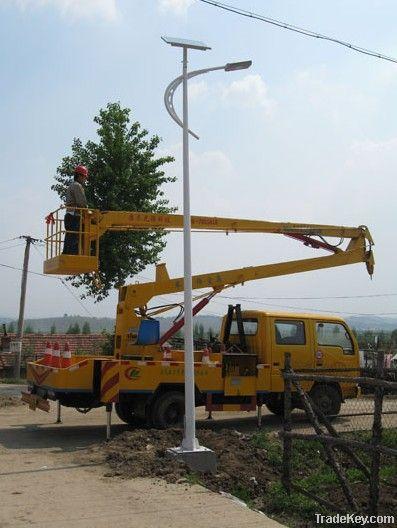 Dingsun Solar Street Lamp, Solar LED street light, Solar Street light Sy