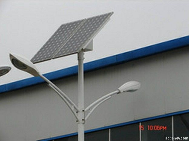 Solar street lighting