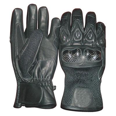 Motorbike Leather Sports Gloves