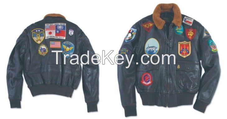 Bomber Leather Jacket