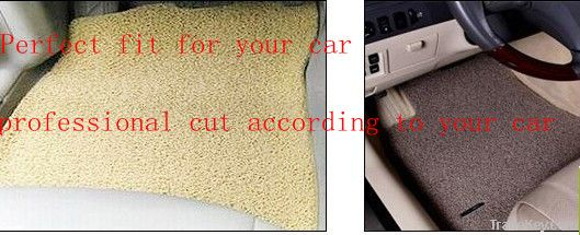 PVC  loop car mats /PVC car coil mats