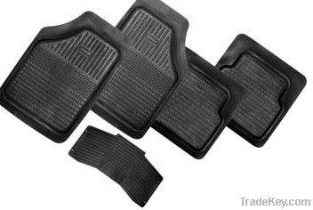 PVC/rubber car mats