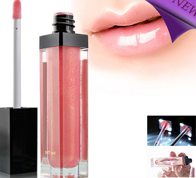 LED Light up Lip Gloss with Mirror
