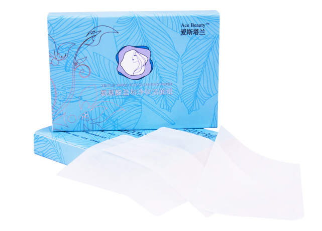 NEW!!!  Natural Make up remover paper