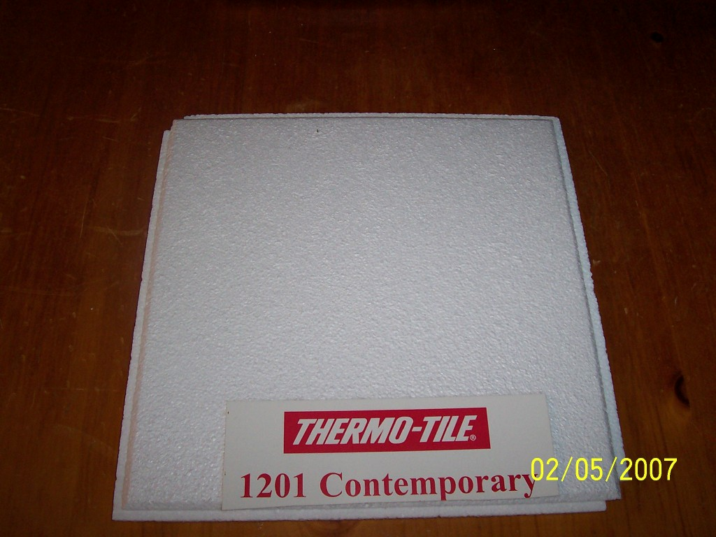 thermo-tile ceiling tile