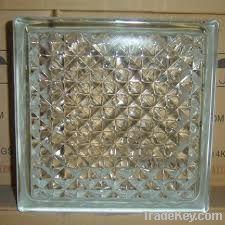 190*190*80mm glass block