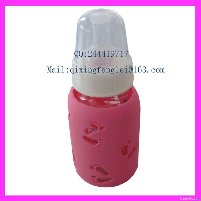 LFGB Baby feeding bottle cover/sleeve custom design welcom SF-P-01