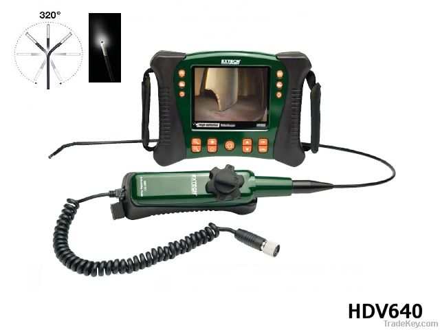 Extech HDV620: HD VideoScope with 5.8mm Semi-Rigid Probe