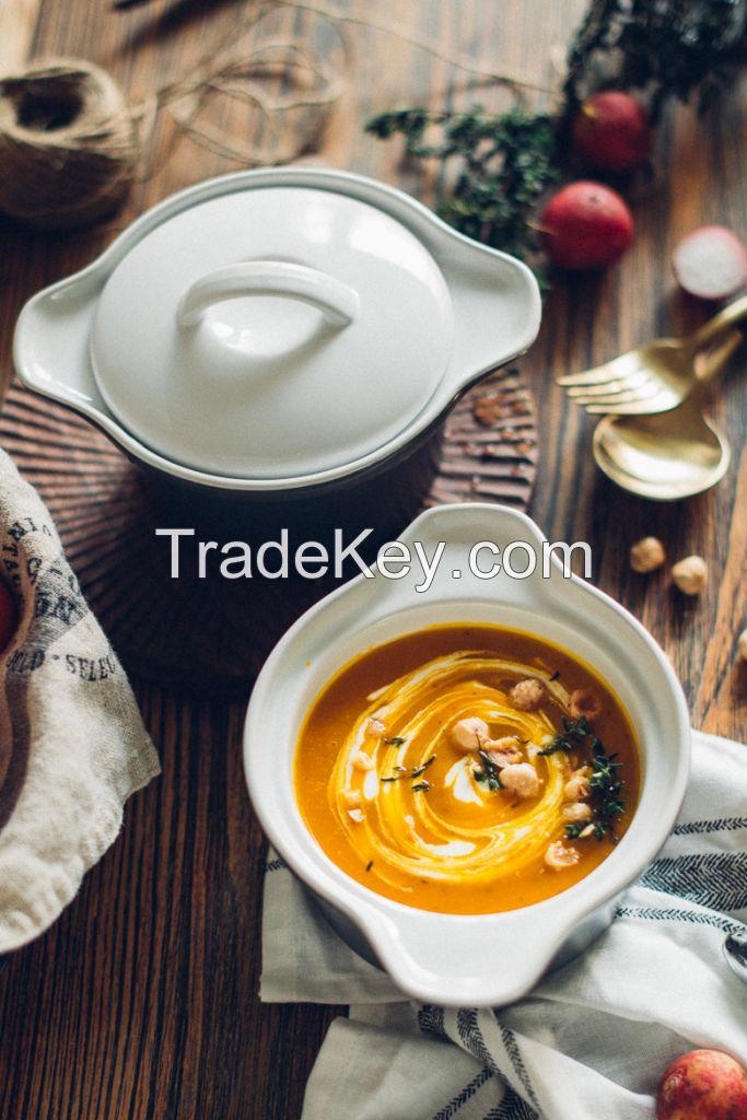 2016 new product OEM ceramic bowl China factory , wholesale salad bowl ,cheap porcelain soup bowl