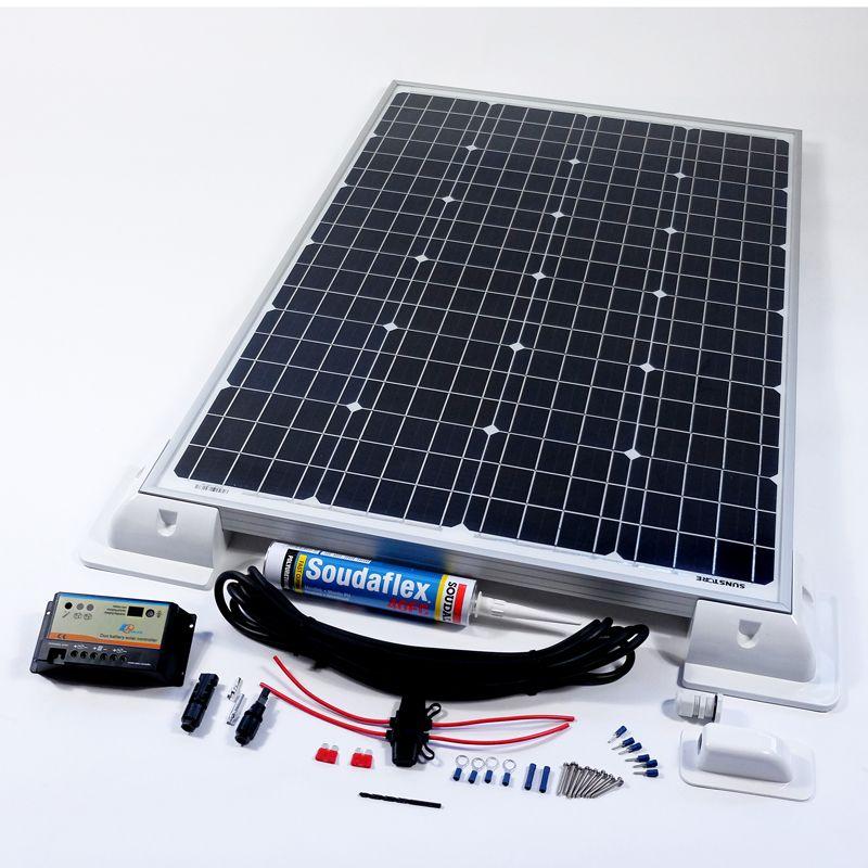Free Standing solar kits 140w