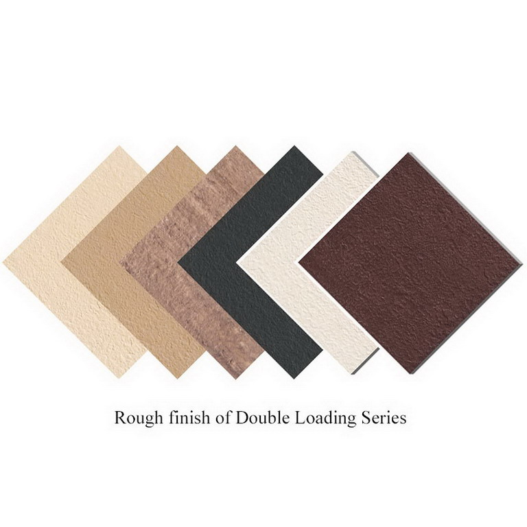 Double Loading Porcelain Tile with three finish