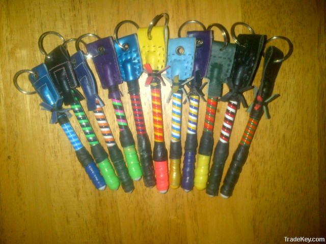 Racing Whip Keychain stock