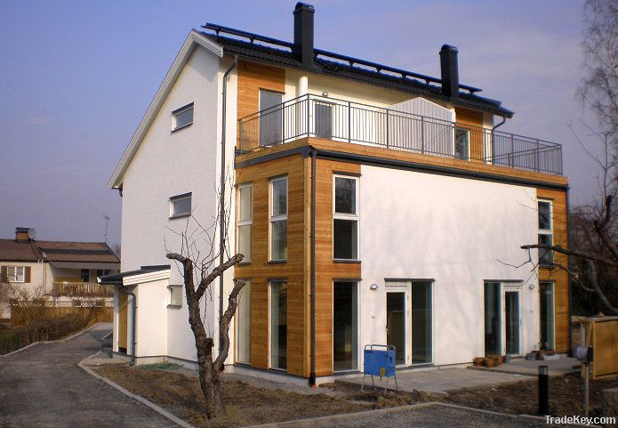 Prefabricated/element houses