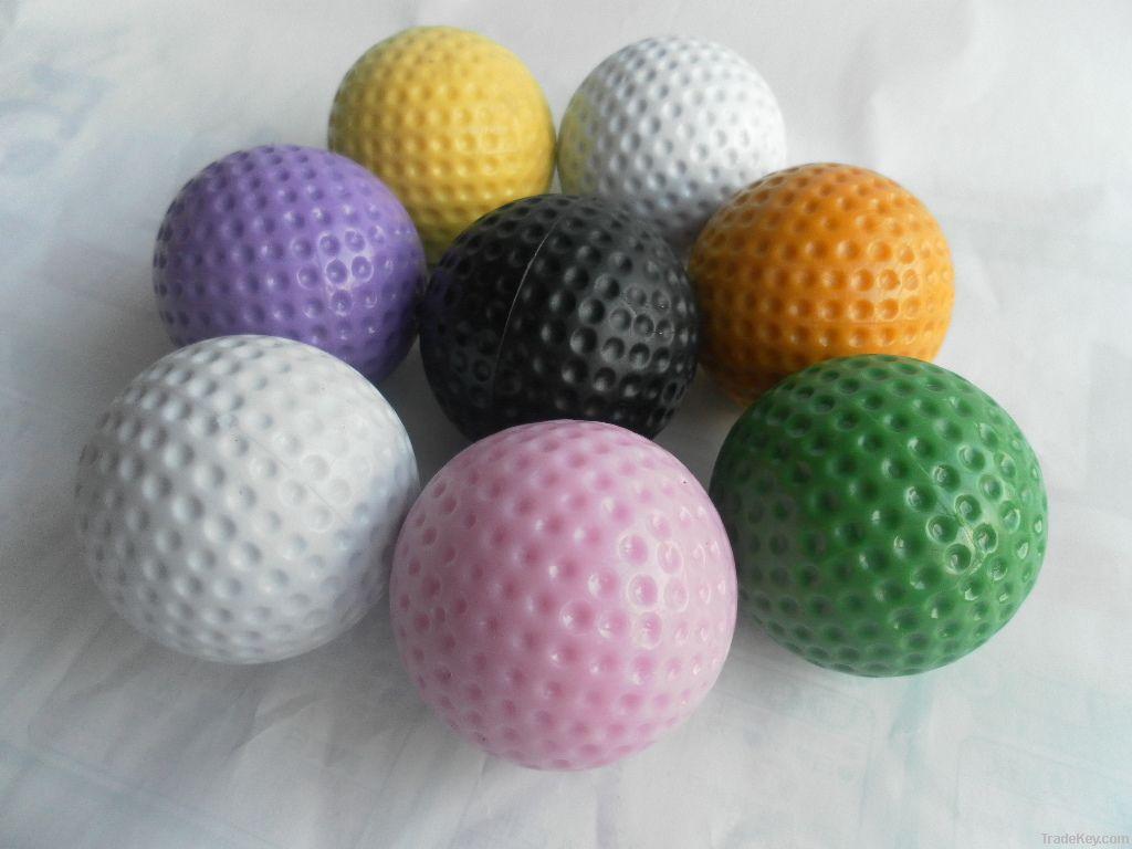 pvc mini golf low bounce  ball