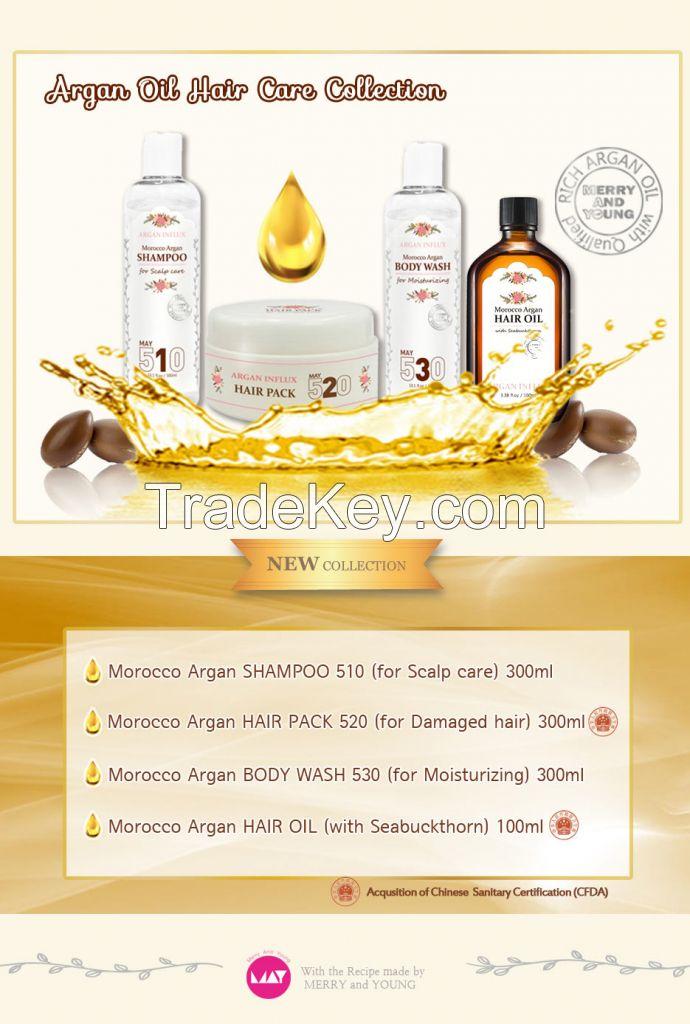 [Argan Influx] Morocco Argan Hair Oil (100ml)
