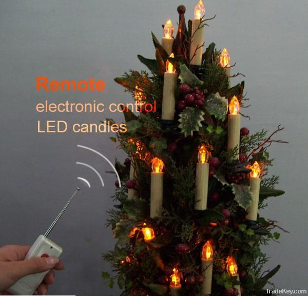 Remote Control Led Candle/christmas tree candle