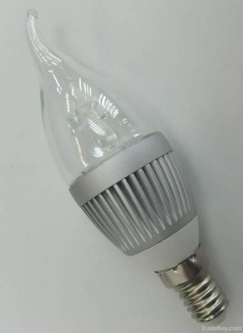 LED candle bulbs/dimmable LED candle lights
