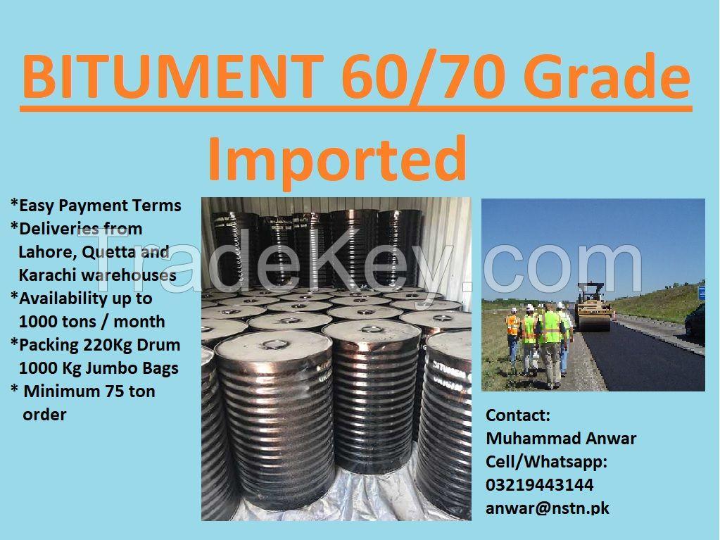 Bitumen 60/70 Grade (Imported)