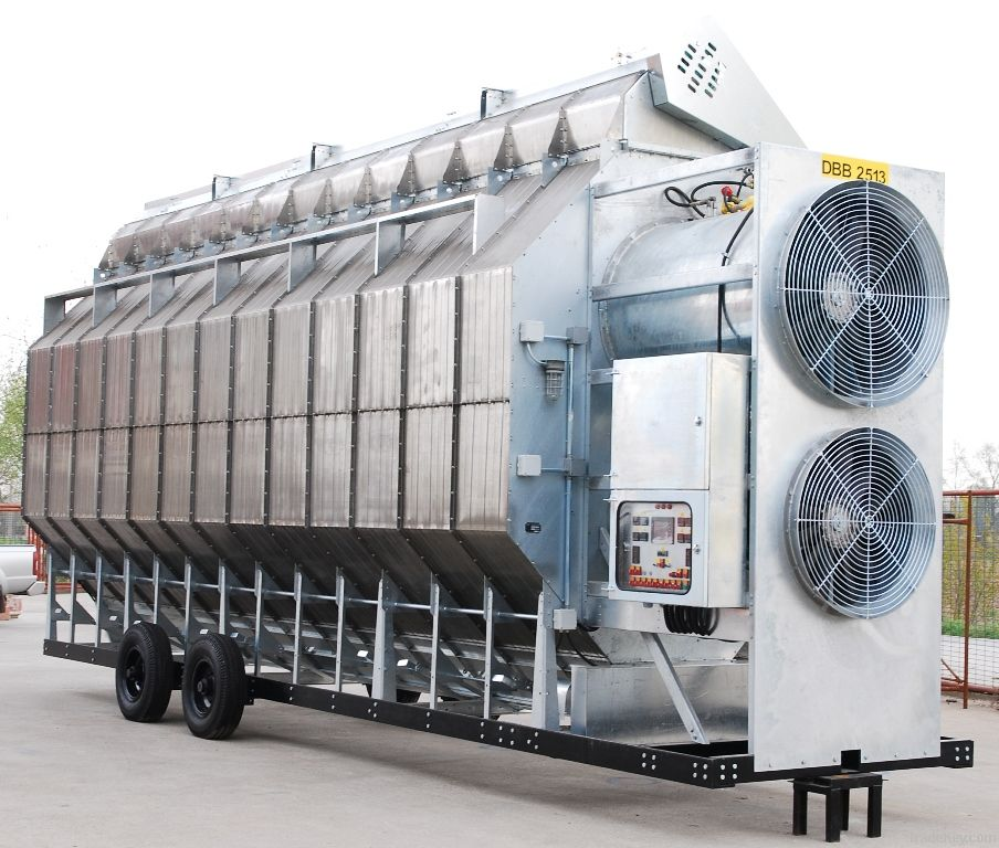 Horizontal Grain Dryer