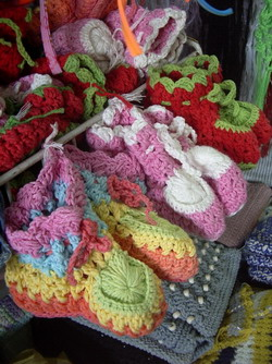 Baby Shoes Knitting