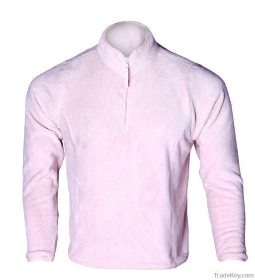 Pink 1/4 Zip sweatshirt