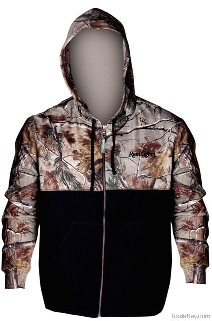 Remington Mens Full Zip Hood