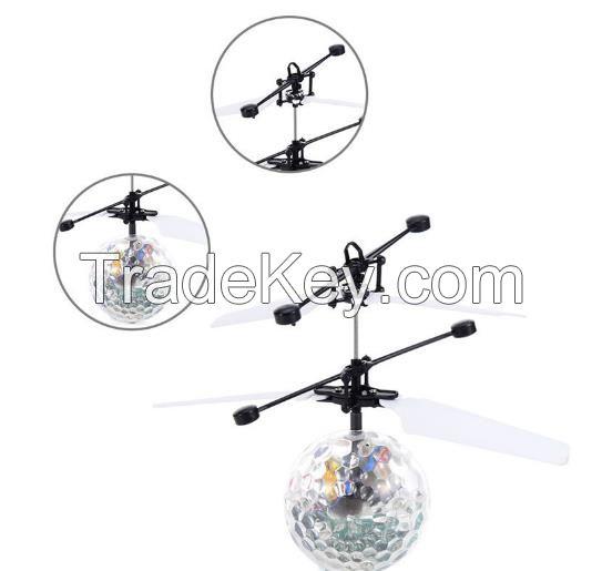 Heli Ball Infrared Ray Interaction Mini Craft Flying Ball