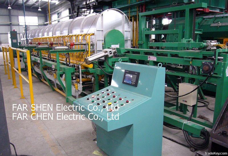Aluminium Billet heating furnace