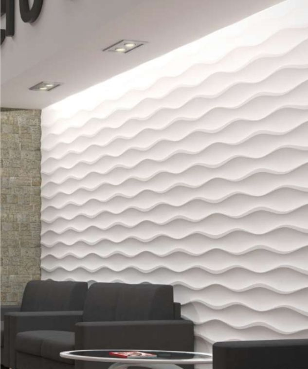 3 Dimensional Mdf Wall Panels Wall Cladding By 3 Decor India