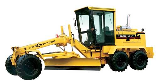 grader, paver, loader, roller, crane