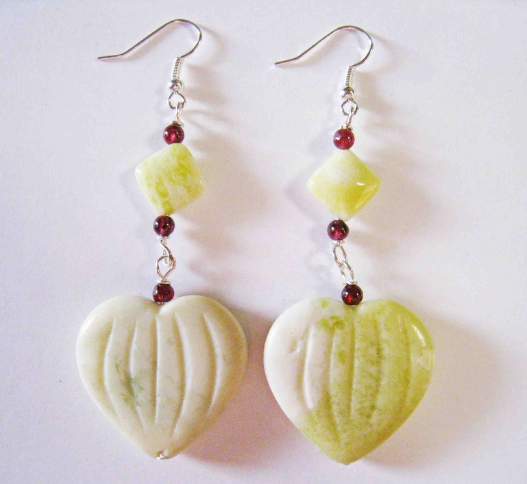 Lemon Stone Earrings