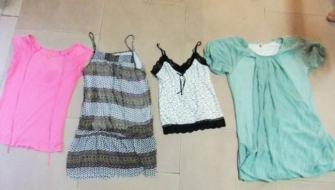 Used Clothing | Jacket | T-shirts | Jeans | Dress