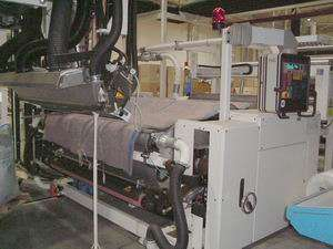 Reifenhauser, single layer cast film extrusion line