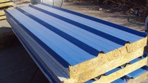 Warehouse Rockwool Roof Panel