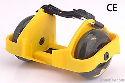 Flahing roller with light /PUwheel