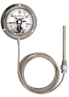 Industrial analog thermometers