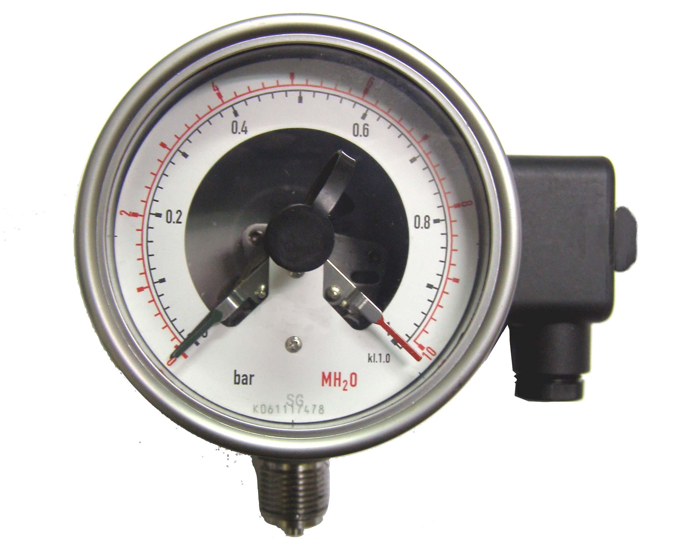 Analog pressure gauges
