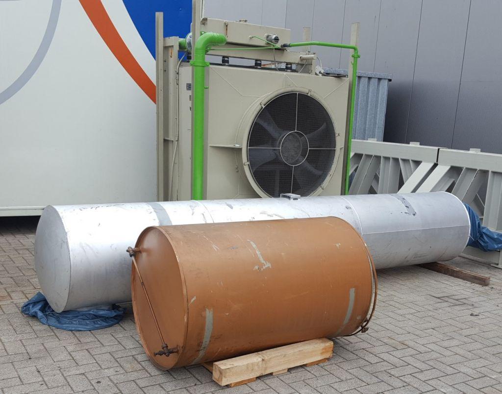 MTU 12V 396 Used generator 900kVA