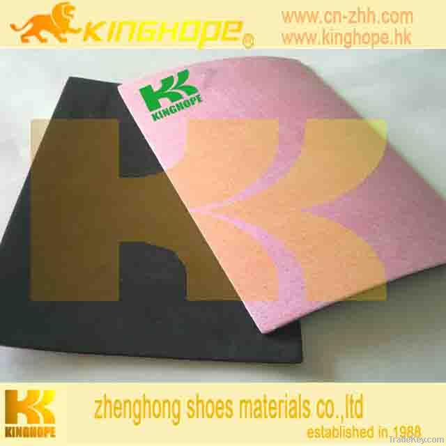 fiber insole board laminted with EVA