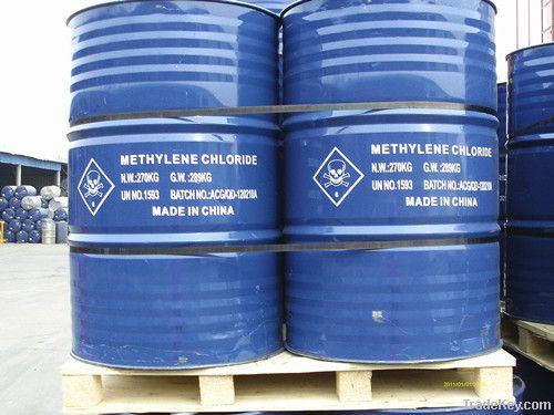 UN NO.: 1593, Methylene chloride, Dichloromethane, 99.5-99.99% purity