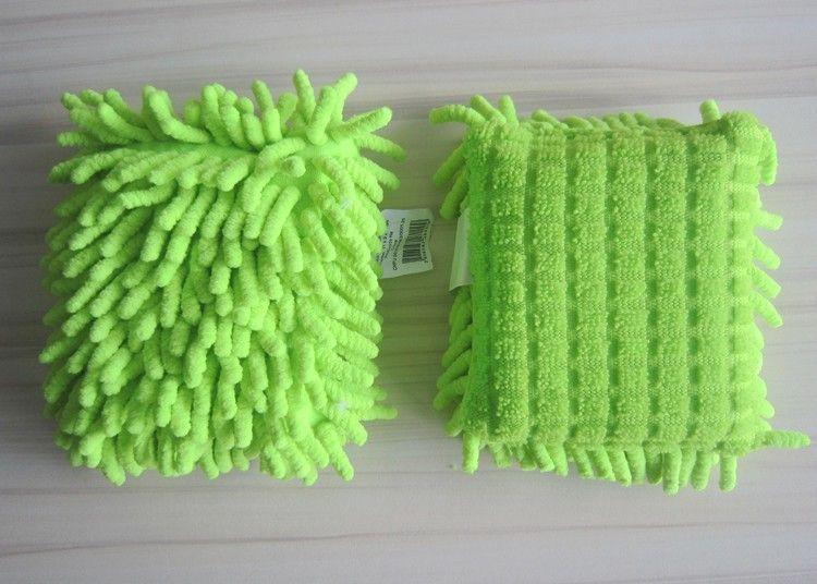 Microfiber Chenille Cleaning Sponge
