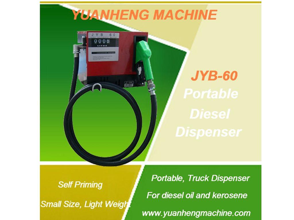 Portable Diesel Fuel Dispenser for trucks