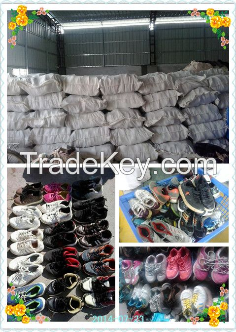 Grade A quality big size second hand shoes  used  shoes