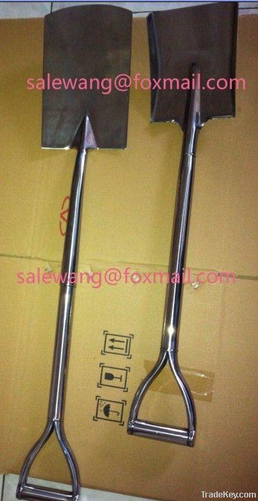 stainless steel shovel spade