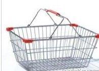 steel wire  mesh shipping storage basket
