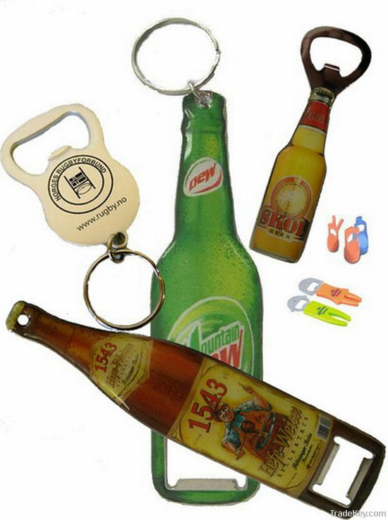 bottle opener, plastic opener, can opener, red wine opener