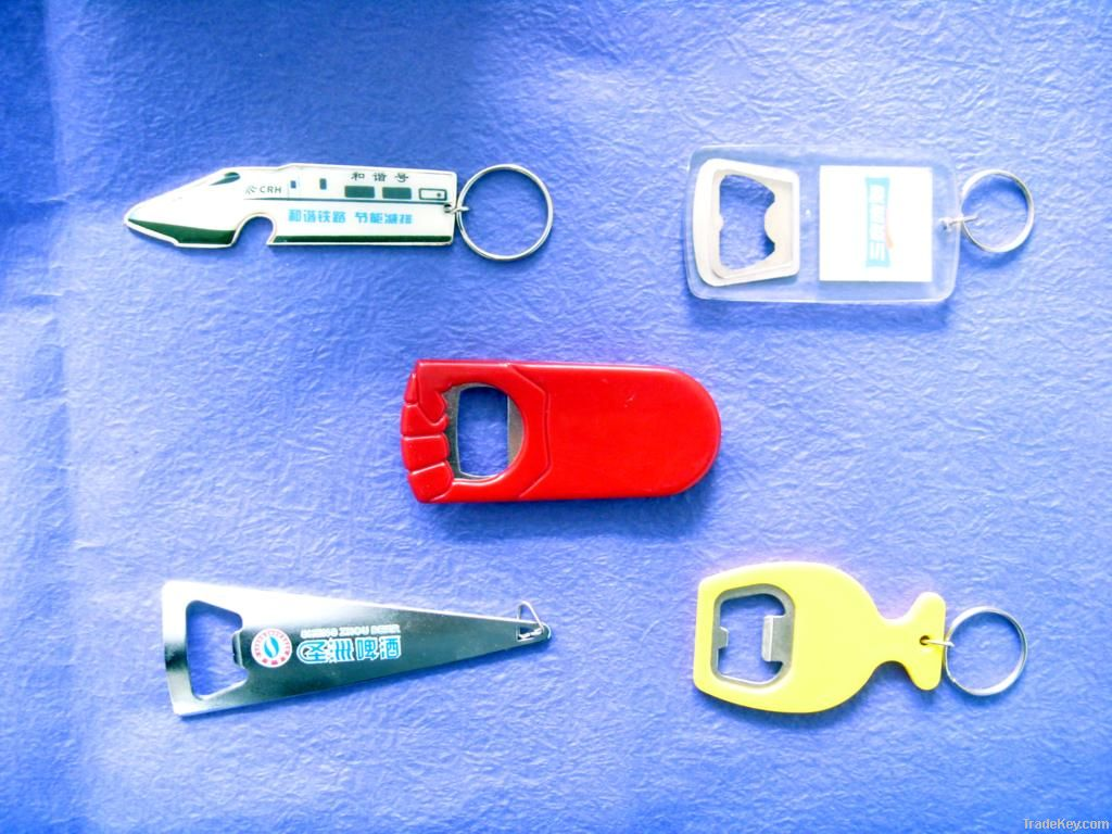 2012 hottest 3d bottle opener , key chian